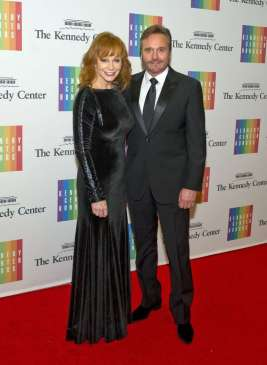 "7/37 SLIDES | After 26 years of marriage, Reba McEntire and Narvel Blackstock announced their separation on Aug. 3, 2015. The two released a joint statement that announced they had been separated for the past several months, but it's unclear whether or not they have filed for divorce at this time. ""Despite this being the end of their marriage, they continue to support each other. They have worked together for 35 years and will continue to do so. They have asked that you respect their privacy during this time,"" the couple's statement explained."