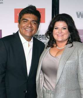32/37 SLIDES   Talk about ties that bind: When George Lopez suffered a kidney disease in 2004, his longtime wife, Ana, gave him one of hers. That made it all the more surprising when the couple divorced -- citing irreconcilable differences -- in 2010, after 17 years together.