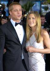 """23/37 SLIDES   They were Hollywood's golden couple for the first half of the 2000s. When Jennifer Aniston and Brad Pitt were photographed on a romantic-seeming """"double date"""" vacation together with Courteney Cox and David Arquette, everything seemed hunky-dory. But weeks later, the couple announced the split in 2005. Of course, Brad famously moved on with Angelina Jolie, with whom he'd just filmed the movie """"Mr. & Mrs. Smith."""" That relationship ended in 2016."""