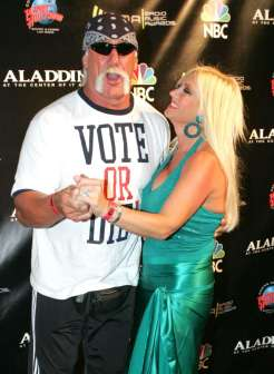 33/37 SLIDES | Hulk Hogan and Linda Hogan's split in 2007 after nearly 24 years of marriage was such a shock that it even took him by surprise. In fact, Hulk learned that Linda had filed for divorce when St. Petersburg Times called him for a comment. In Dec. 2010, Hulk got remarried to a woman named Jennifer McDaniel, who is 22 years his junior, and who bears an eerily strong resemblance to his daughter, Brooke.