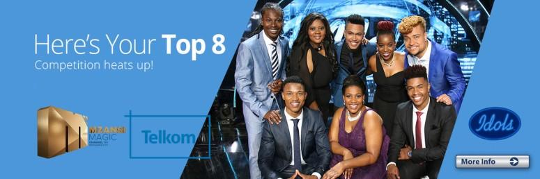 Idols SA >> 2016 >> Top 8